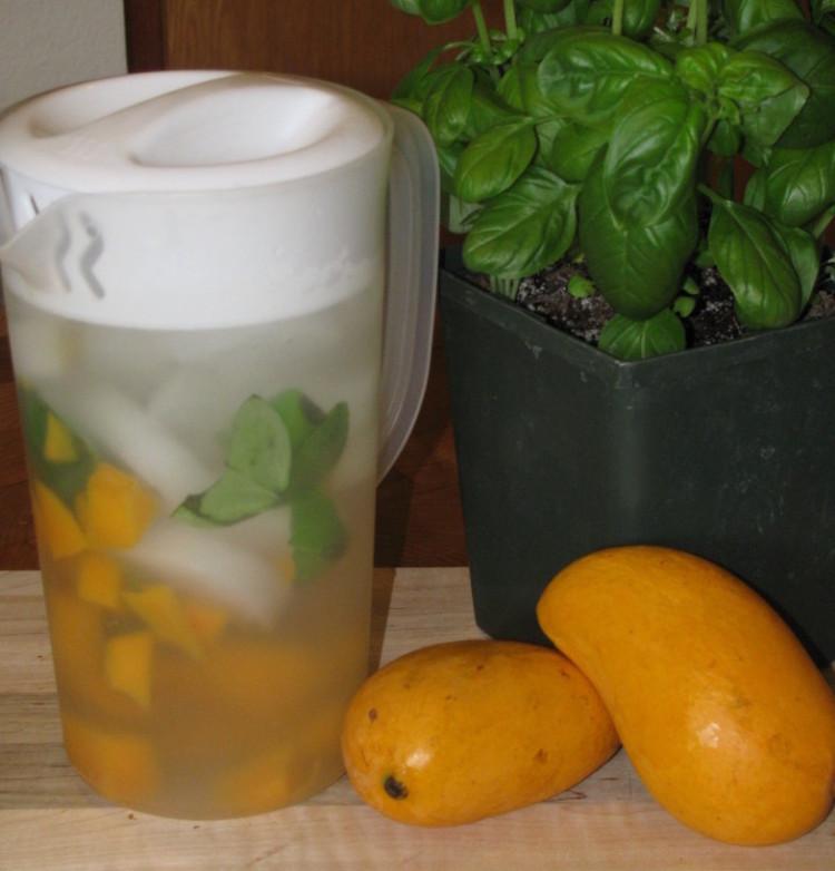 Day Spa Mango and Basil Water