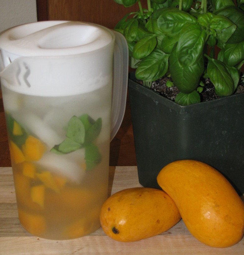 Day Spa Mango and Basil Water