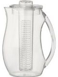 Prodyne Fruit Infusion 2.9 Quart Pitcher