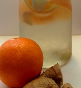 ginger orange water pitcher