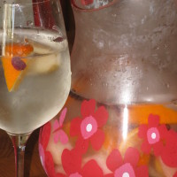Fall fruit infused water