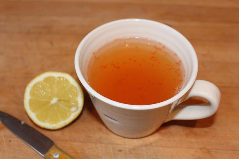 Cayenne Pepper Lemon Water-