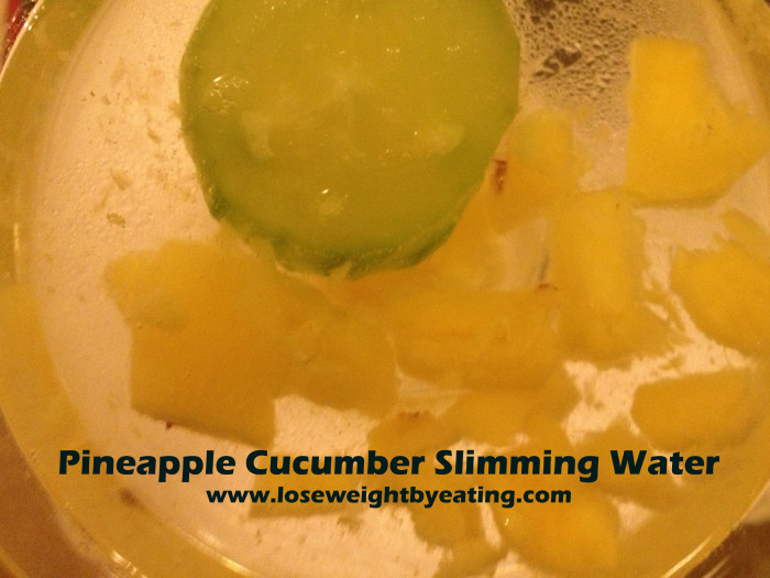 Pineapple Cucumber Water