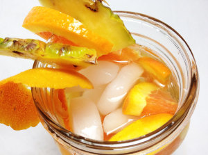 Pineapple Orange Infused Water Detox